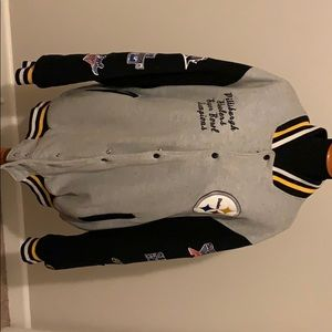 Pittsburgh Steelers 6 Time Super Bowl Jacket